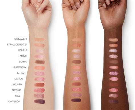 nars ignited eyeshadow palette holiday  beauty trends  latest makeup collections chic