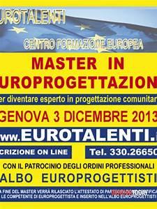 Master europrogettazione Genova 2013
