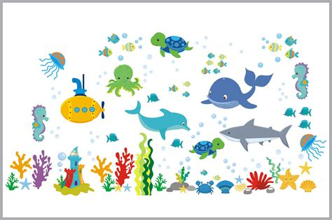 Sea Creatures Nursery Decals  Baby Room Stickers  Ocean. Marketing Signs Of Stroke. Non Banners. Logo Designing Software. Generic Signs. Svc Signs. Zebra Thermal Labels. Calligraphy Poster Lettering. Bomb Signs Of Stroke
