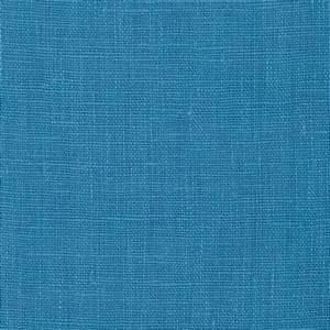 European 100% Linen Cornflower Blue - Discount Designer