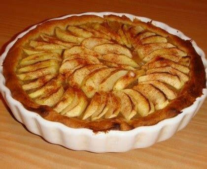 ustensiles de cuisine en c tarte aux pommes à la frangipane recette de tarte aux