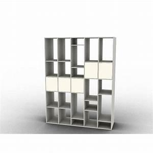 bibliotheque configurable au millimetre With meuble pour separation de piece 8 dressing sur mesure 224 configurer en ligne