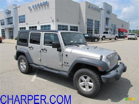 jeep gray color 2007 light graystone pearl jeep wrangler unlimited x 4x4