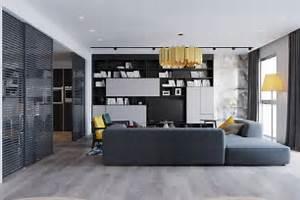 Graues Regal : wohnzimmer in grau mit eckcouch im mittelpunkt 55 ideen ~ Pilothousefishingboats.com Haus und Dekorationen
