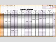 7+ weekly employee schedule template Authorization Letter