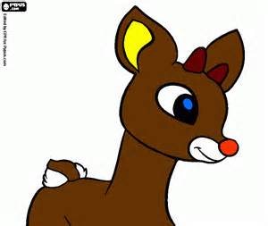 it is rudolph coloring page printable it is rudolph
