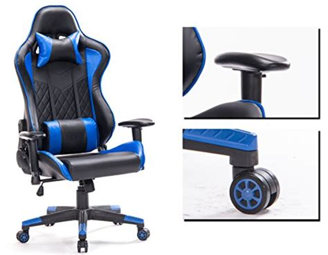 support lombaire pour chaise top gamer grande taille racing chaise de gaming dossier haut si 232 ge et r 233 glable avec t 234 ti 232 re