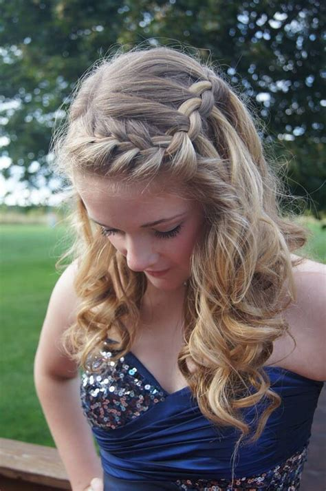 Pretty Homecoming Hairstyles by This Is How I Want My Hair For Grade 8 Graduation