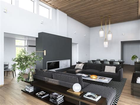 white home interiors 3 modern homes in many shades of gray