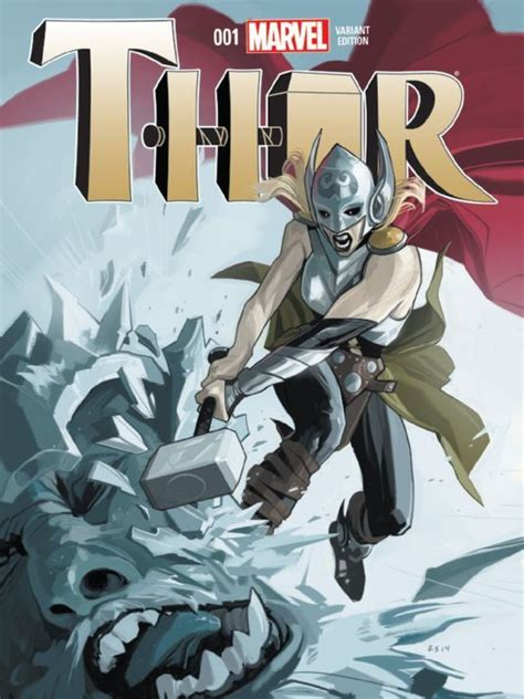 it 39 s hammer time for a new female thor