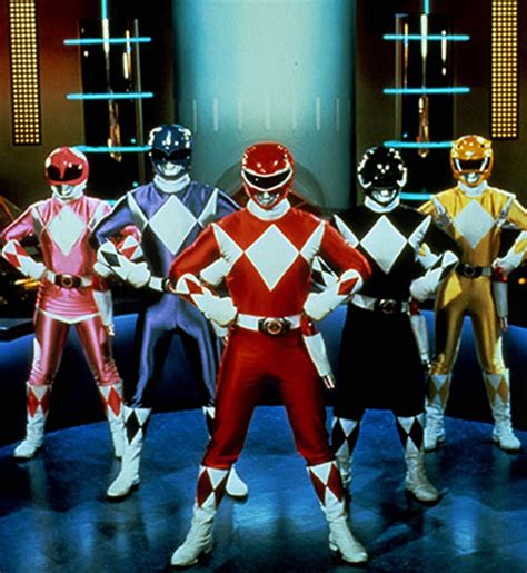 Mighty Morphin' Power Rangers - Team profile for the early ...