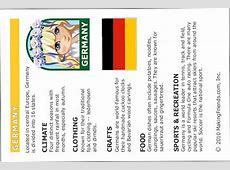 Germany Fact Sheet Fun facts on Germany, print and then