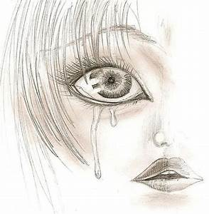 Crying Eye Drawing - Crying   people   Pinterest   Eye ...