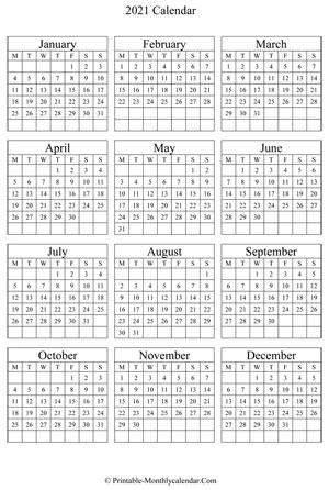 canada calendar printable