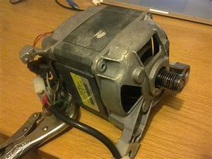 How To Wire Up A Universal Ac 240v Motor Out Of A Washing Machine Or Clothes Drier  Make Sure It