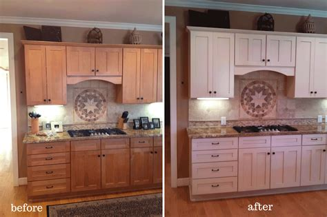 painted bathroom cabinets before and after painted cabinets nashville tn before and after photos