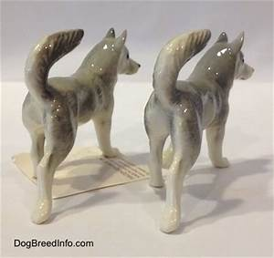Collectable Vintage Husky Dogs