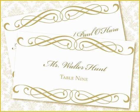 wedding place card template  printable escort card