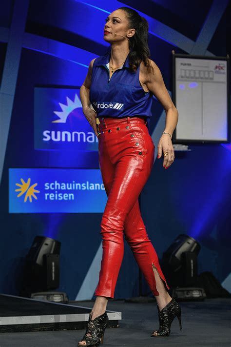 lilly becker  promi darts  leather celebrities