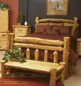 Log Cabin Bed Frame