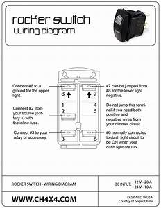 Carling Rocker Switch 6 Blade Wiring Diagram