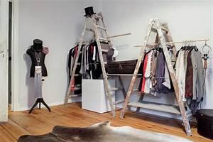 Alternative Zum Kleiderschrank : kleiderstange rohre selber bauen wohn design ~ Frokenaadalensverden.com Haus und Dekorationen