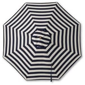 teak stripe market umbrella traditional outdoor
