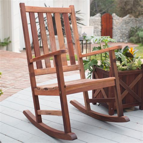 belham living richmond heavy duty outdoor wooden rocking