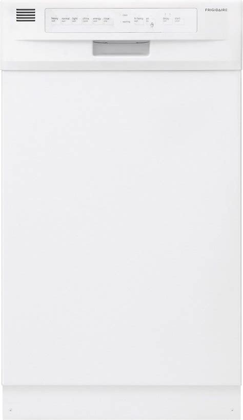 "Frigidaire Ffbd1821mw 18"" White Builtin Dishwasher Shop"