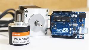 Connecting Rotary Incremental Encoder With Arduino