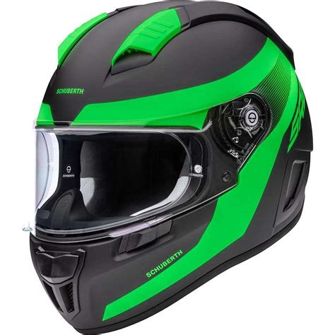 sr resonance green helmet helmets full schuberth
