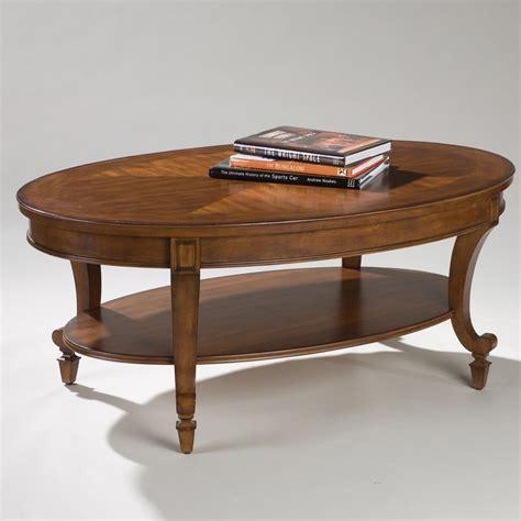 magnussen  aidan wood oval coffee table coffee