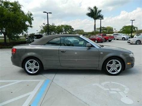 audi 4 door convertible find used 2007 audi a4 quattro cabriolet convertible 2