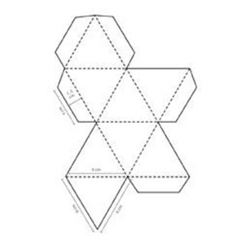 truncated cuboctahedron template octahedron design octahedron templates to print 3d