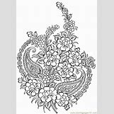 Flower Garden Coloring Pages For Kids   650 x 920 gif 71kB