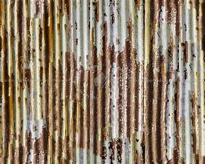 Iron corrugated dirt rusty metal texture seamless 09984