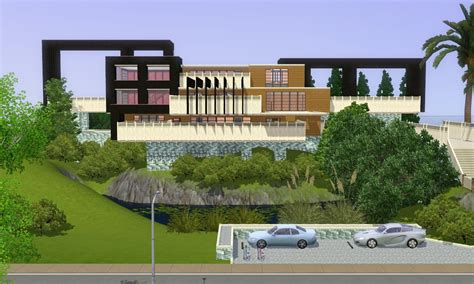 sims 3 house floor plans modern sims 3 modern house car interior design