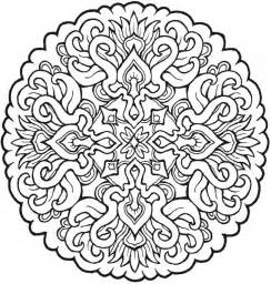 Pinterest Adult Mandala Coloring Pages