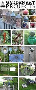 Creative & Frugal Garden Art Project Tutorials - Empress