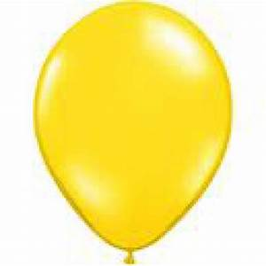 Yellow Latex Balloons - Party decor and rentals for kiddie