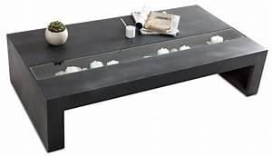 Table Basse Grise Pas Cher : table basse grise design maison design ~ Teatrodelosmanantiales.com Idées de Décoration