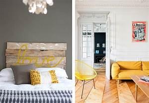 Deco Jaune Moutarde : d coration jaune moutarde affaires de famille ~ Melissatoandfro.com Idées de Décoration