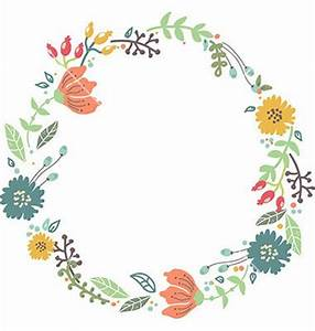 65 best images about Circle frames clipart garland on ...
