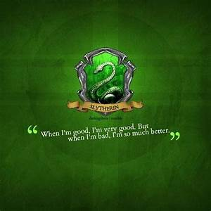 From House Quotes Slytherin. QuotesGram