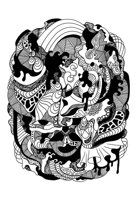 Abstract Black And White Drawings by Black And White Abstract Drawings 4 Of The Most