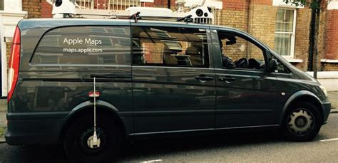 Apple Maps Van Spotted In Rushcroft Road, Brixton