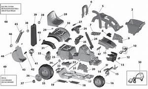 Peg Perego John Deere Utility Tractor Parts
