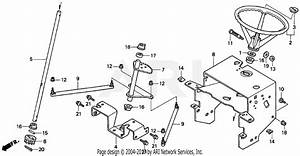Honda H2013k1 Sac Lawn Tractor  Usa  Vin  Mzbf