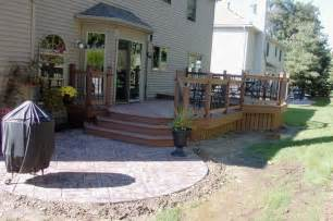 Small Decks and Patios with Fire Pits