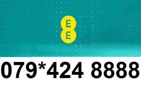 Ee Mobile Number by Gold Platinum Mobile Number On Ee 079 424 8888